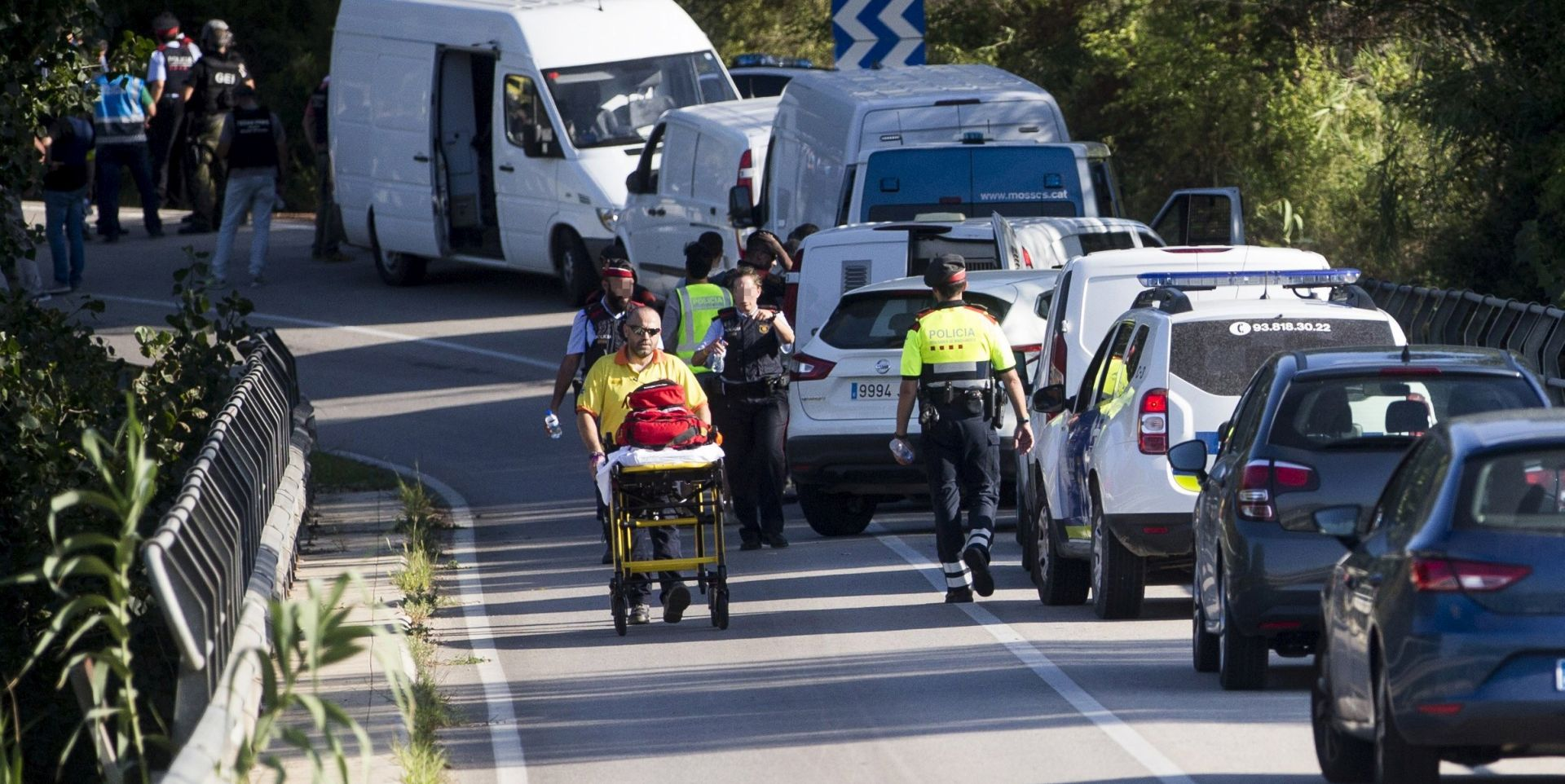 ISTRAGA SE NASTAVLJA Uništena džihadistička teroristička ćelija u Kataloniji