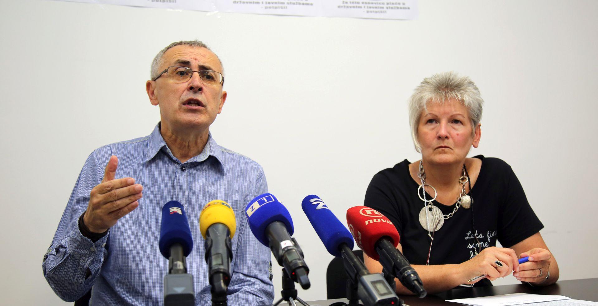 Preporod želi peticijom natjerati Vladu da odustane od plaća po različitim osnovicama