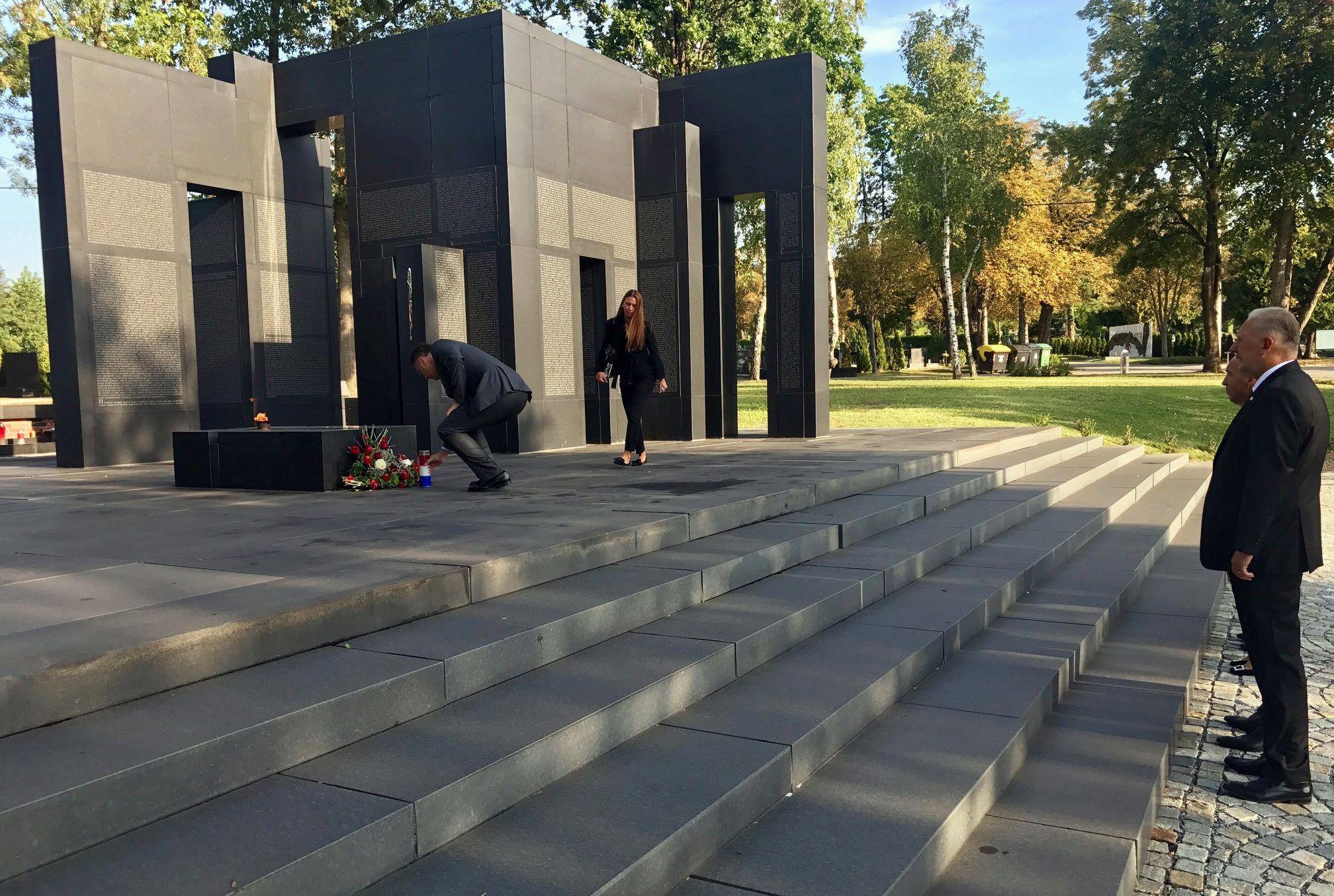 Na Mirogoju otkrivena Spomen ploča mađarskim vojnicima poginulim u Prvom svjetskom ratu