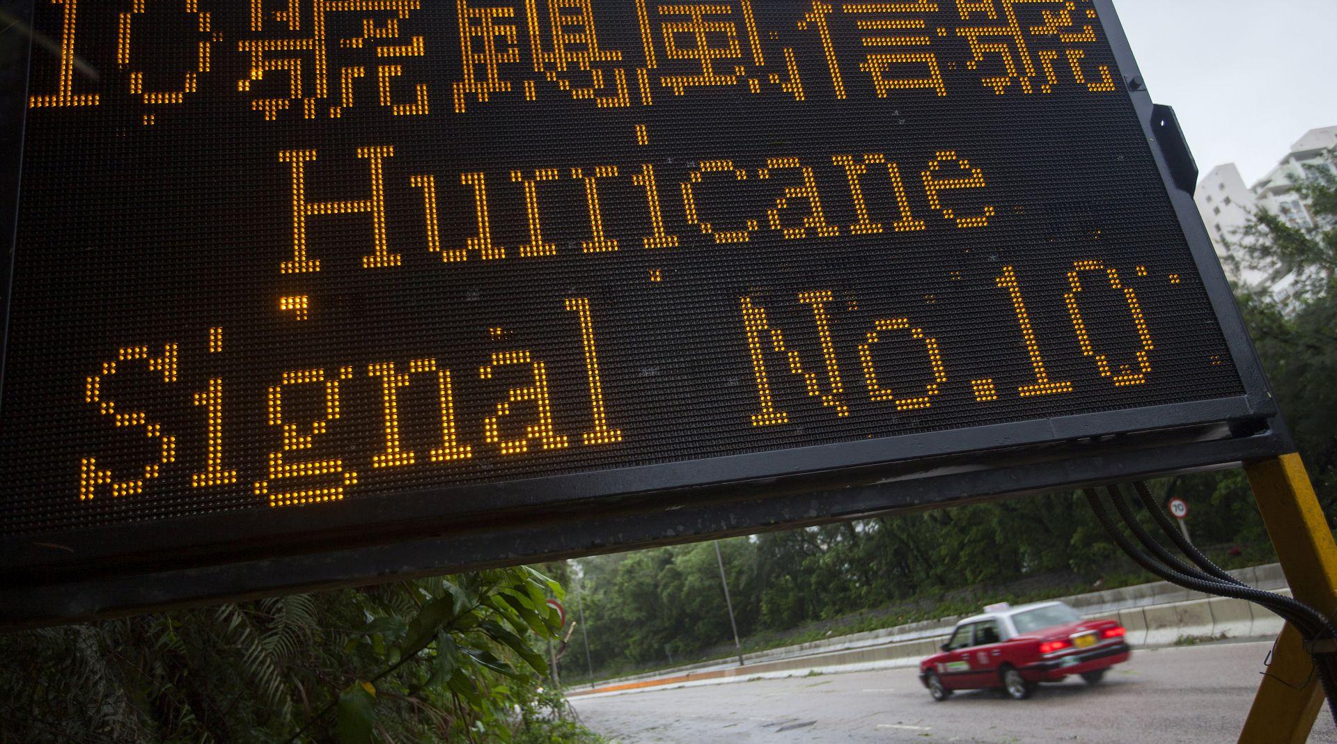 Tajfun Hato u Hong Kongu i Macau usmrtio najmanje 12 osoba