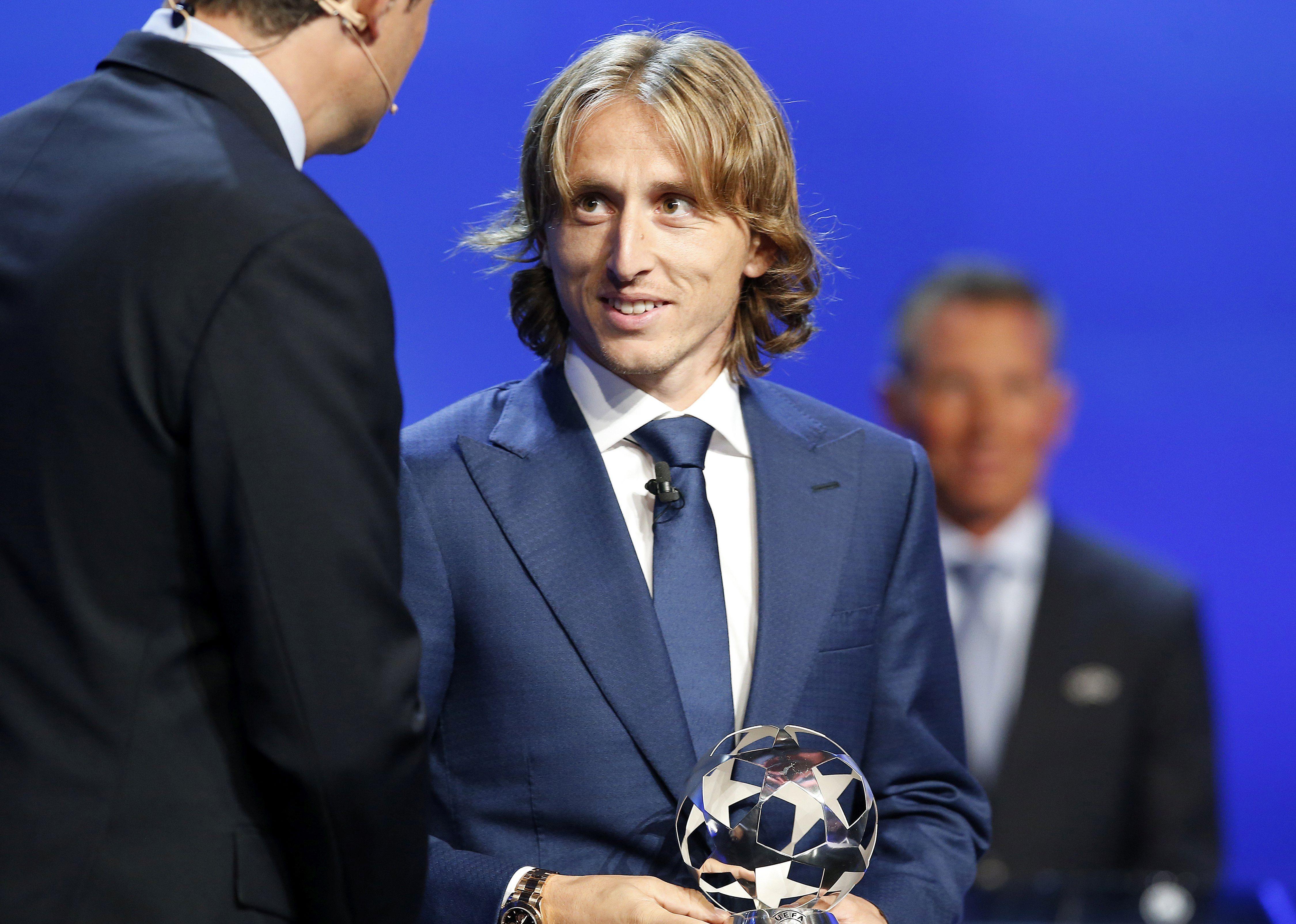 Modrić u UEFA-inoj idealnoj momčadi za 2017.