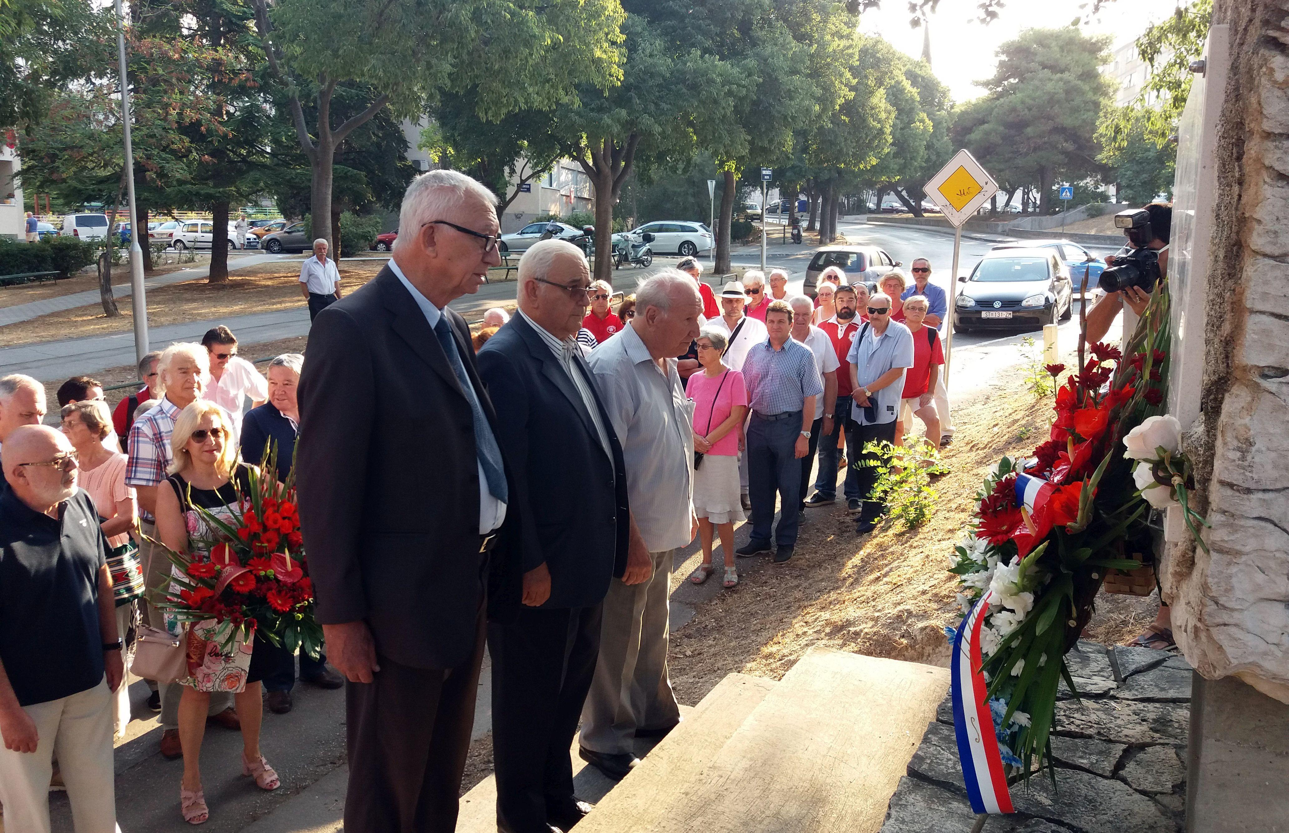 Obilježena 76. obljetnica stradanja mladića iz Prvog splitskog partizanskog odreda