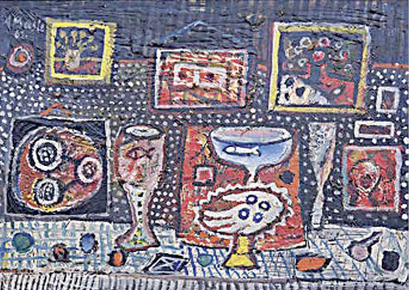 LIKOVNO POVEĆALO Život u slikama vječnog sanjara Antuna Masle