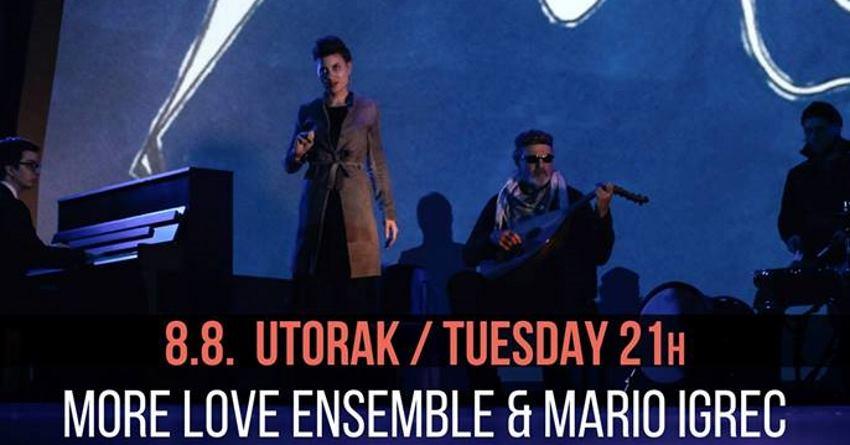 FESTIVAL ORSULA More Love Ensemble & Mario Igrec nastupaju u utorak (08. kolovoza)