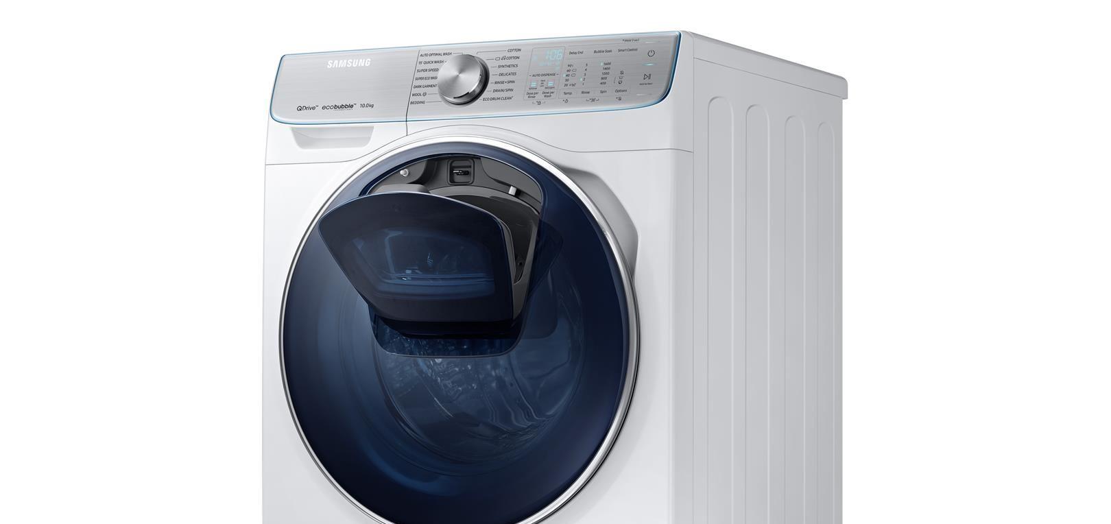 SAMSUNG Nove tehnologije i funkcionalan dizajn za pranje rublja bez problema