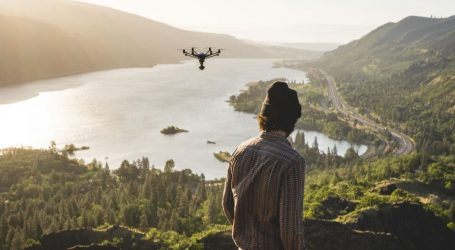 Dronovi dezinficiraju ulice Cannesa