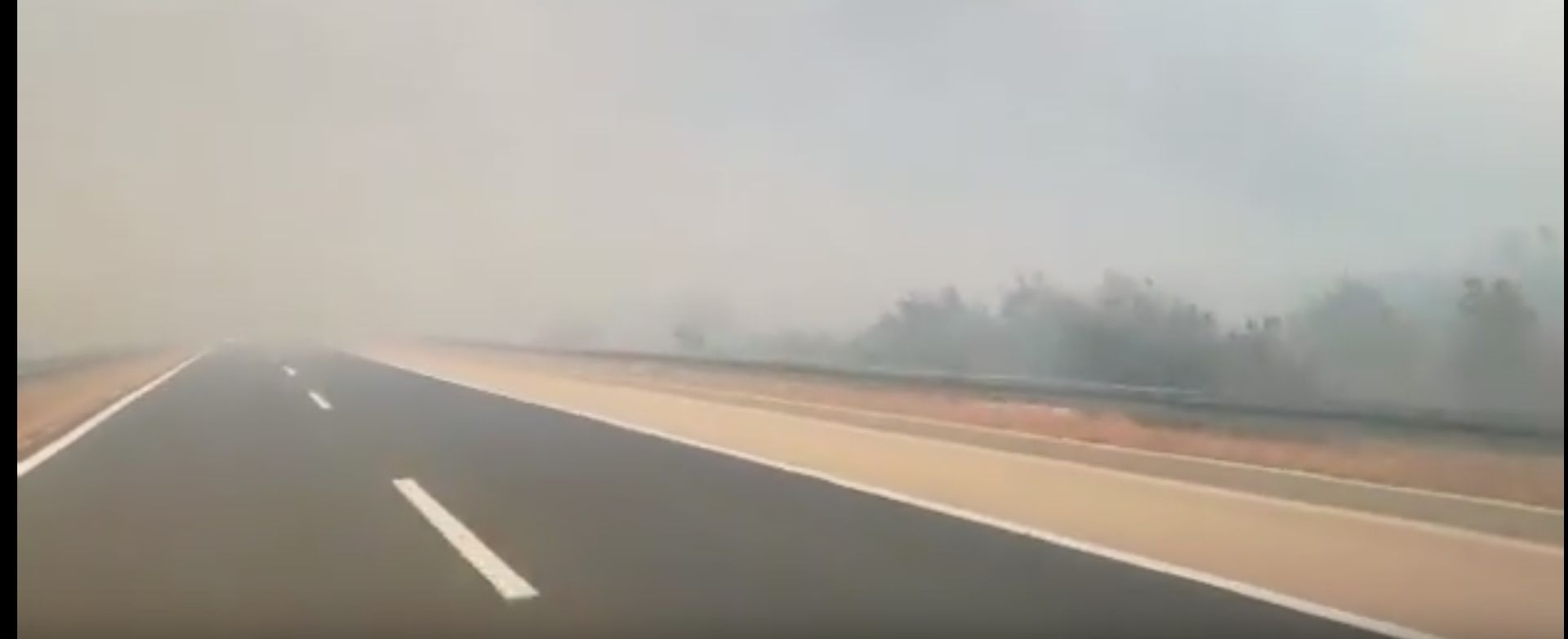 HAK Na cestama u Lici i Gorskom Kotaru ima magle
