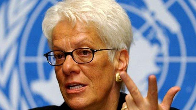 NASEKIRALA SE Carla Del Ponte je nezadovoljna i odlazi