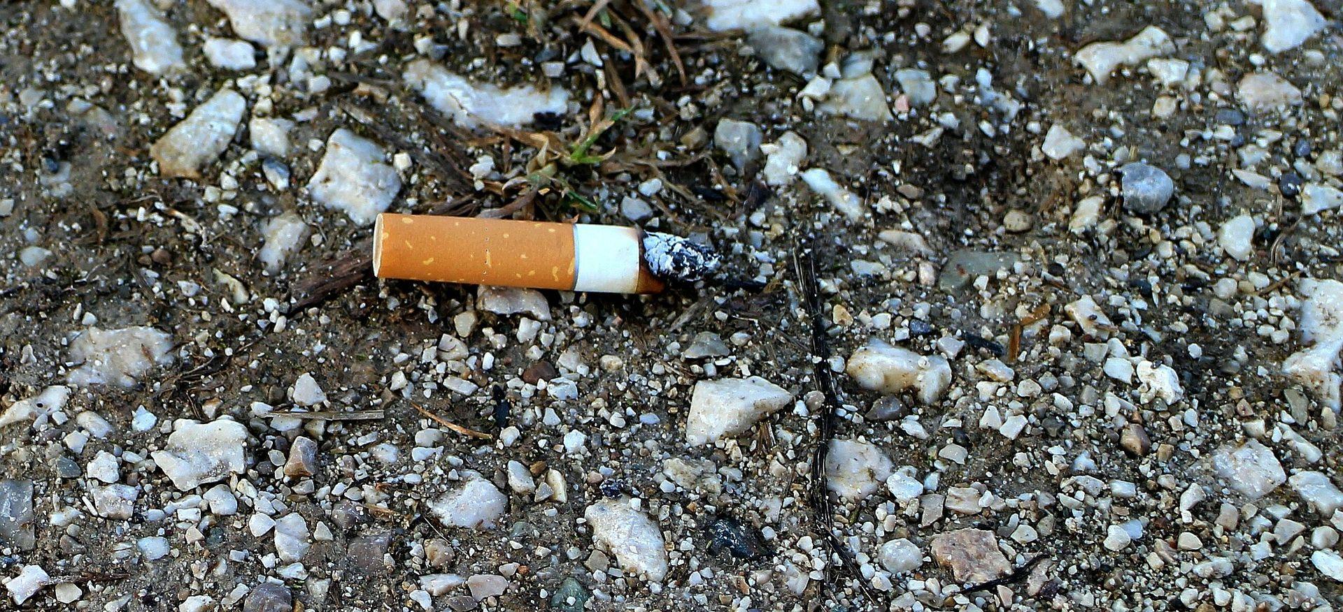 KORČULA 66-godišnjakinja bacila opušak cigarete i izazvala požar, zaradila kaznenu prijavu