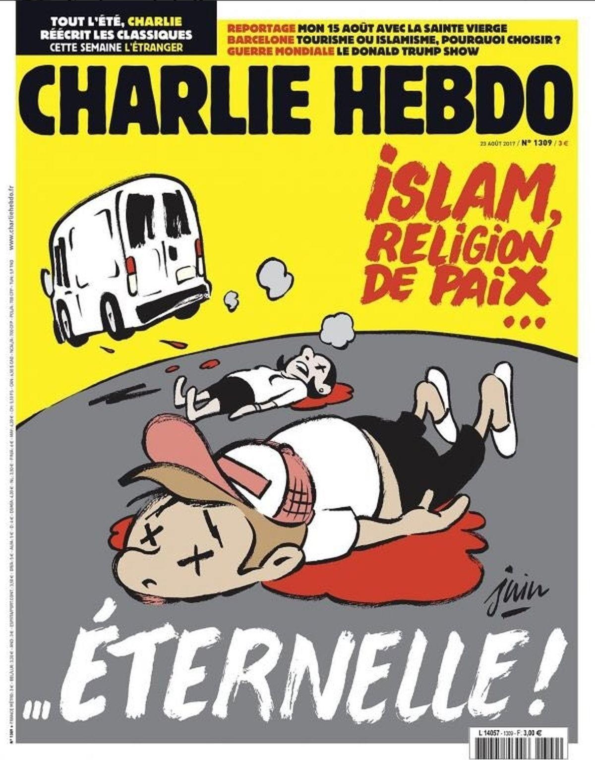 Nova provokativna naslovnica Charlie Hebdoa o islamu