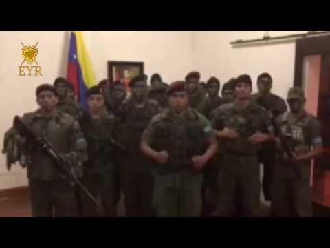 VIDEO: Naoružani venezuelski muškarci u vojnim odorama objavili da započinje pobuna