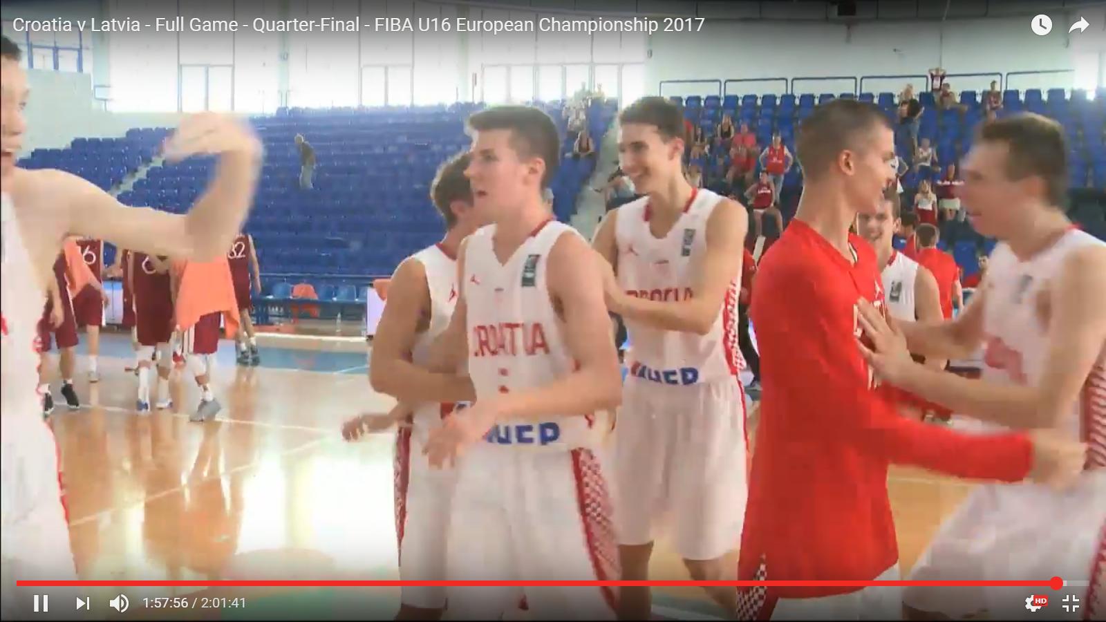 VIDEO: Miljkovićevi kadeti se plasirali na Final Four Europskog prvenstva!