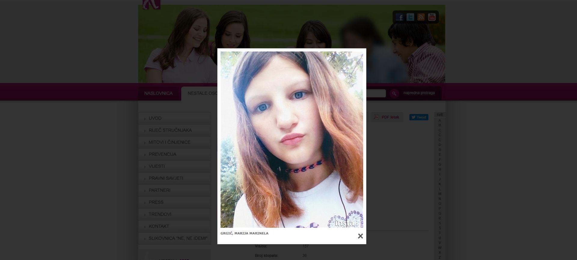 SPLITSKA POLICIJA Nestala 14-godišnjakinja pronađena neozlijeđena