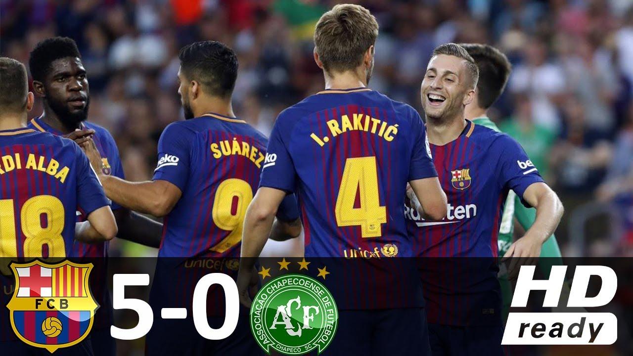 VIDEO: Barcelona ugostila brazilski Chapecoense, Rakitić asistent u visokoj pobjedi