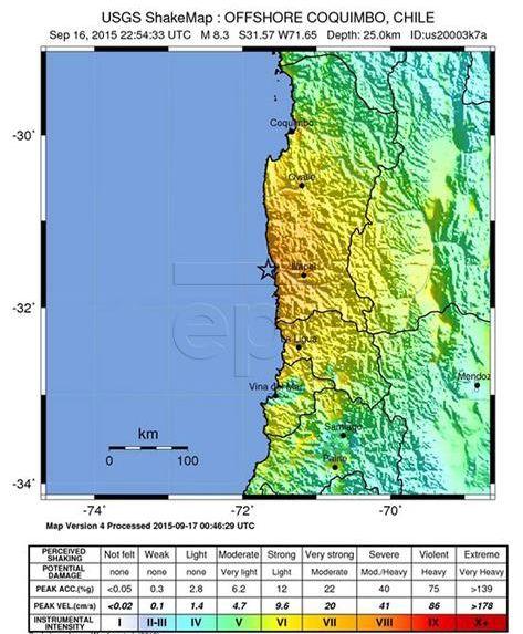 ČILE Potres pogodio Santiago, nije zabilježena veća šteta