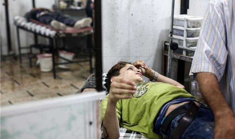U Siriji 18 civila poginulo u zračnom napadu međunarodne koalicije
