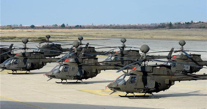Noćna bojna gađanja i raketiranja helikopterima Kiowa Warrior