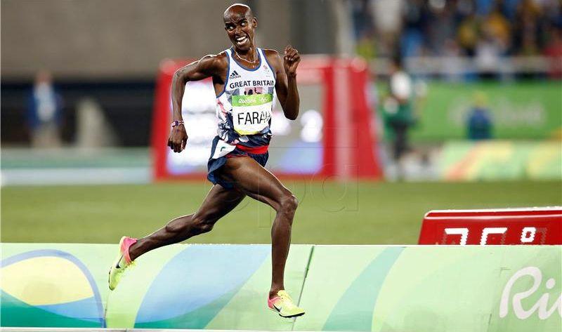 SP ATLETIKA Treće uzastopno zlato za Faraha na 10,000m, Bolt lakoćom u polufinale