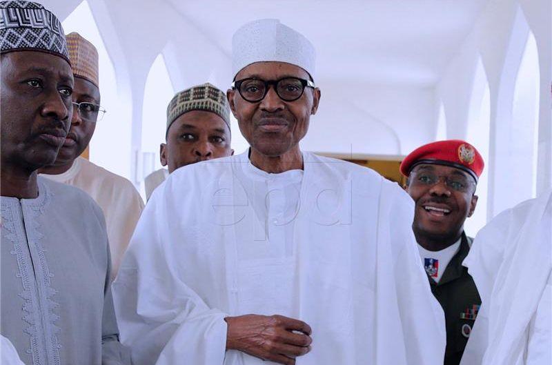 Nigerijci slave predsjednikov povratak iz Londona