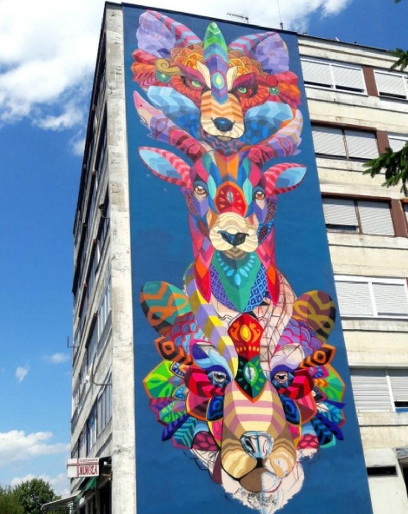 Sisački mural Totem među sedam najboljih u svijetu