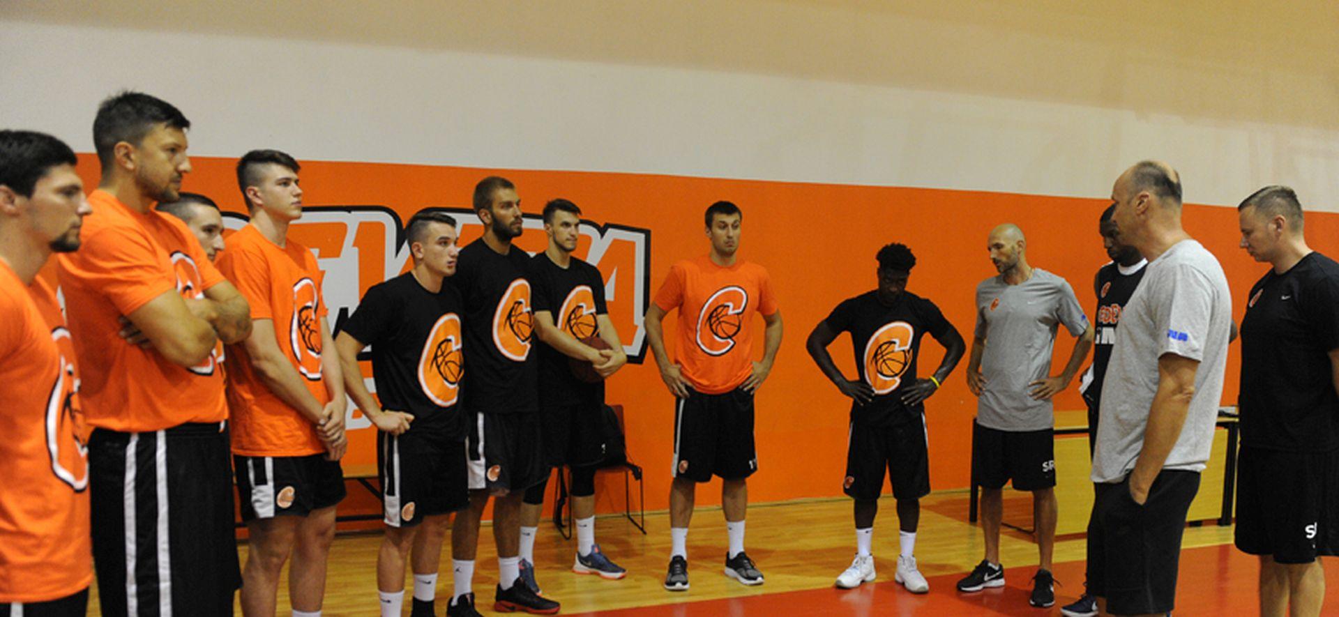 ZDOVC SAZVAO CEDEVITU Testiranjima hrvatski košarkaški prvak započeo pripreme