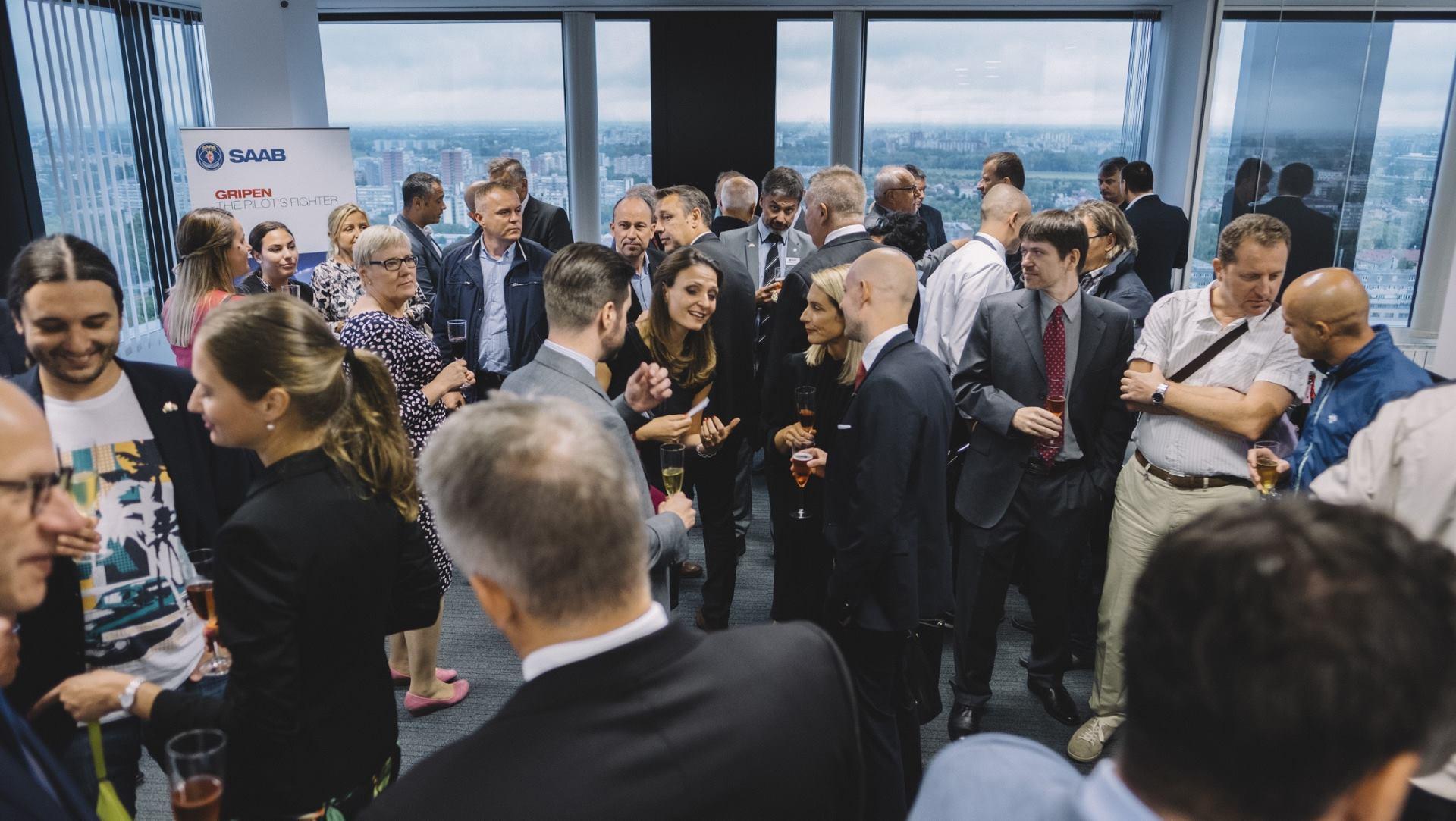 FOTO: Saab obilježio desetu obljetnicu poslovanja u Hrvatskoj i otvorio novi ured