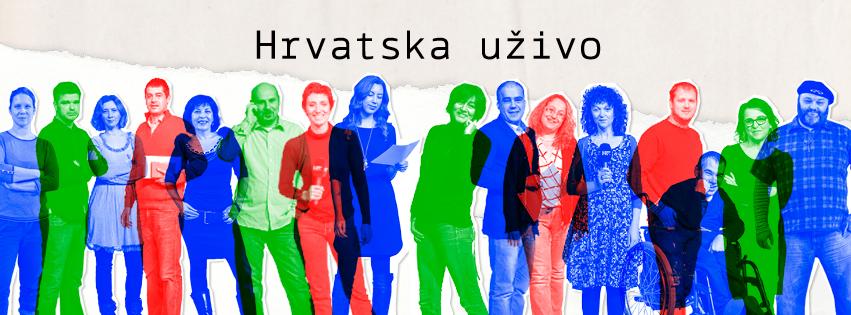 Prosvjed 'Želimo ostanak emisije Hrvatska uživo' na Markovom trgu okupio tristotinjak ljudi