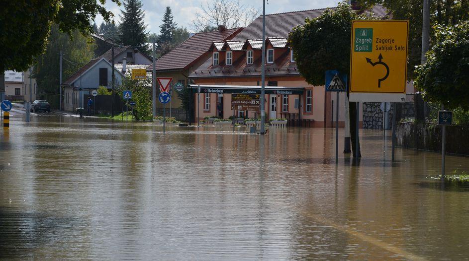 Poplavljeni dijelovi Hrvatske
