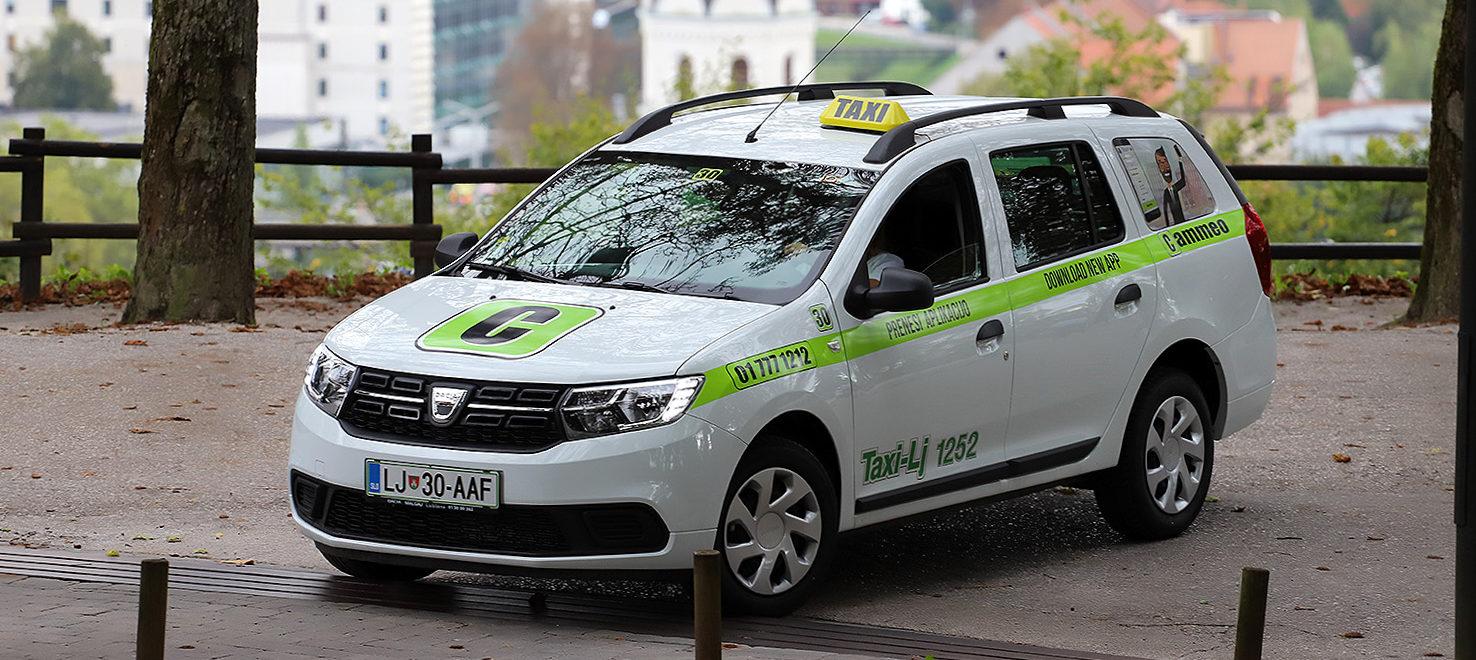 FOTO: Taxi Cammeo od petka i u Gradu Ljubljani