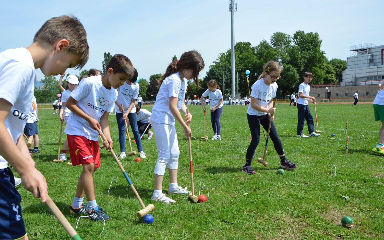 3000 UČENIKA OSNOVNIH I SREDNJIH ŠKOLA IZ ZAGREBA ŠALJU NAJVAŽNIJU SPORTSKU PORUKU Zagreb se sprema za Hrvatski školski sportski dan