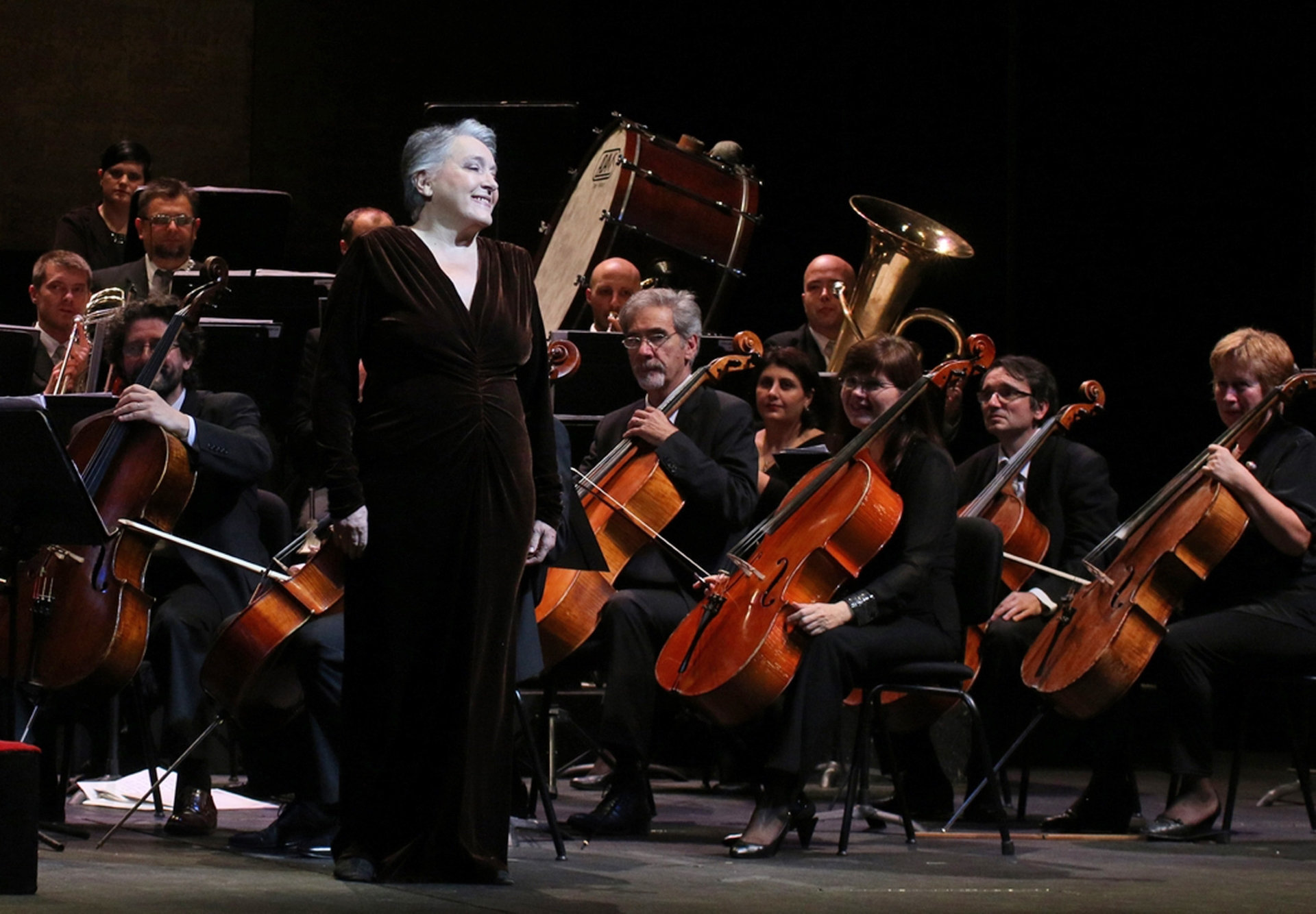 Koncert pod dirigentskim vodstvom operne dive Dunje Vejzović