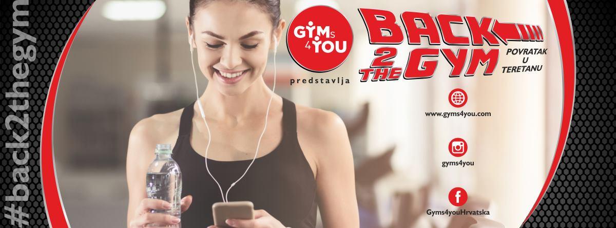 Gyms4you – Vrijeme je za povratak u teretanu