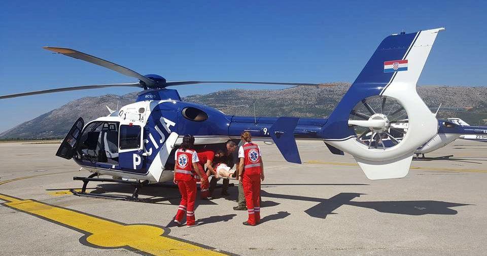 DUBROVAČKO-NERETVANSKA ŽUPANIJA Tijekom ljeta helikopterom zbrinuta 103 hitna pacijenta