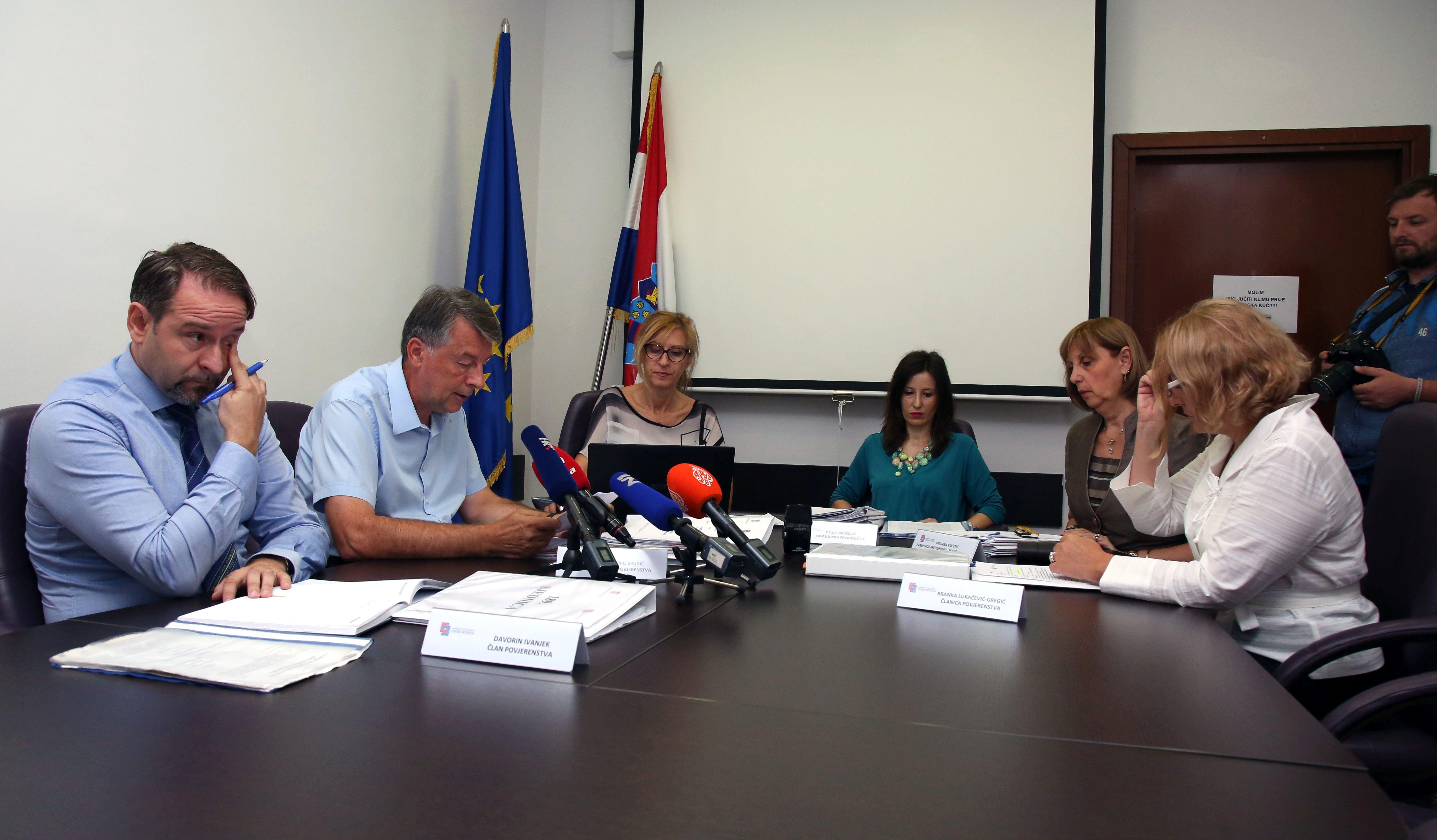 Povjerenstvo pokrenulo postupak protiv Martine Dalić; Omejec povrijedila zakon, ali nije kažnjena