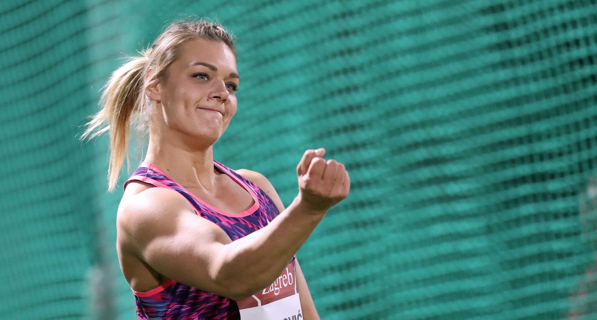 Sandra Perković peti put nominirana za najbolju atletičarku svijeta