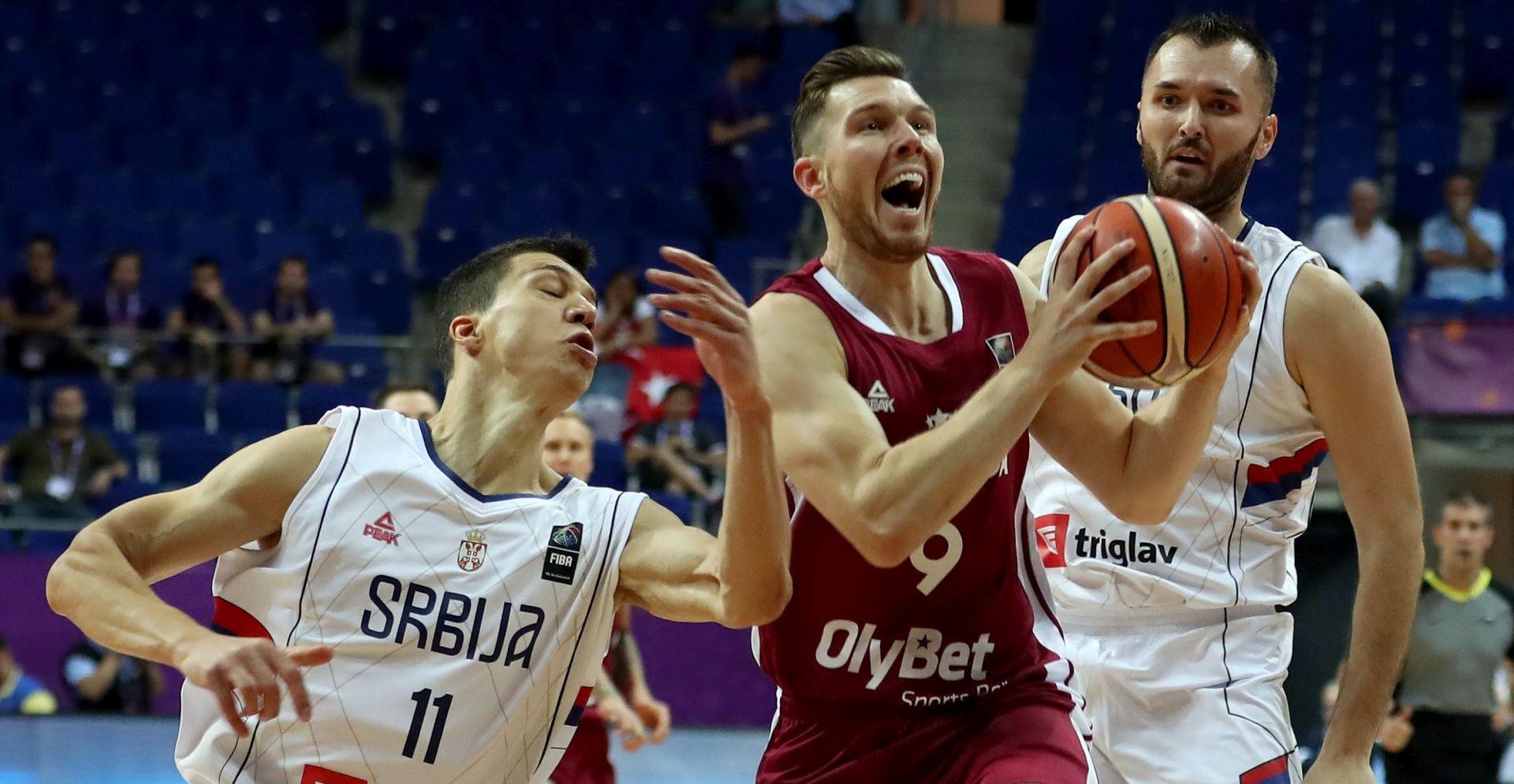 EUROBASKET Španjolska uvjerljiva protiv Crne Gore, Srbija svladala Latviju