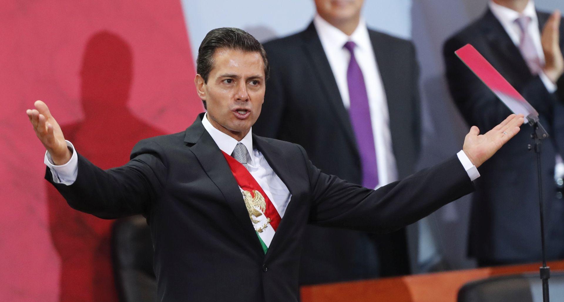 """PENA NIETO 'Meksiko neće prihvatiti uvrede protiv """"nacionalnog dostojanstva"""" od Trumpove administracije'"""