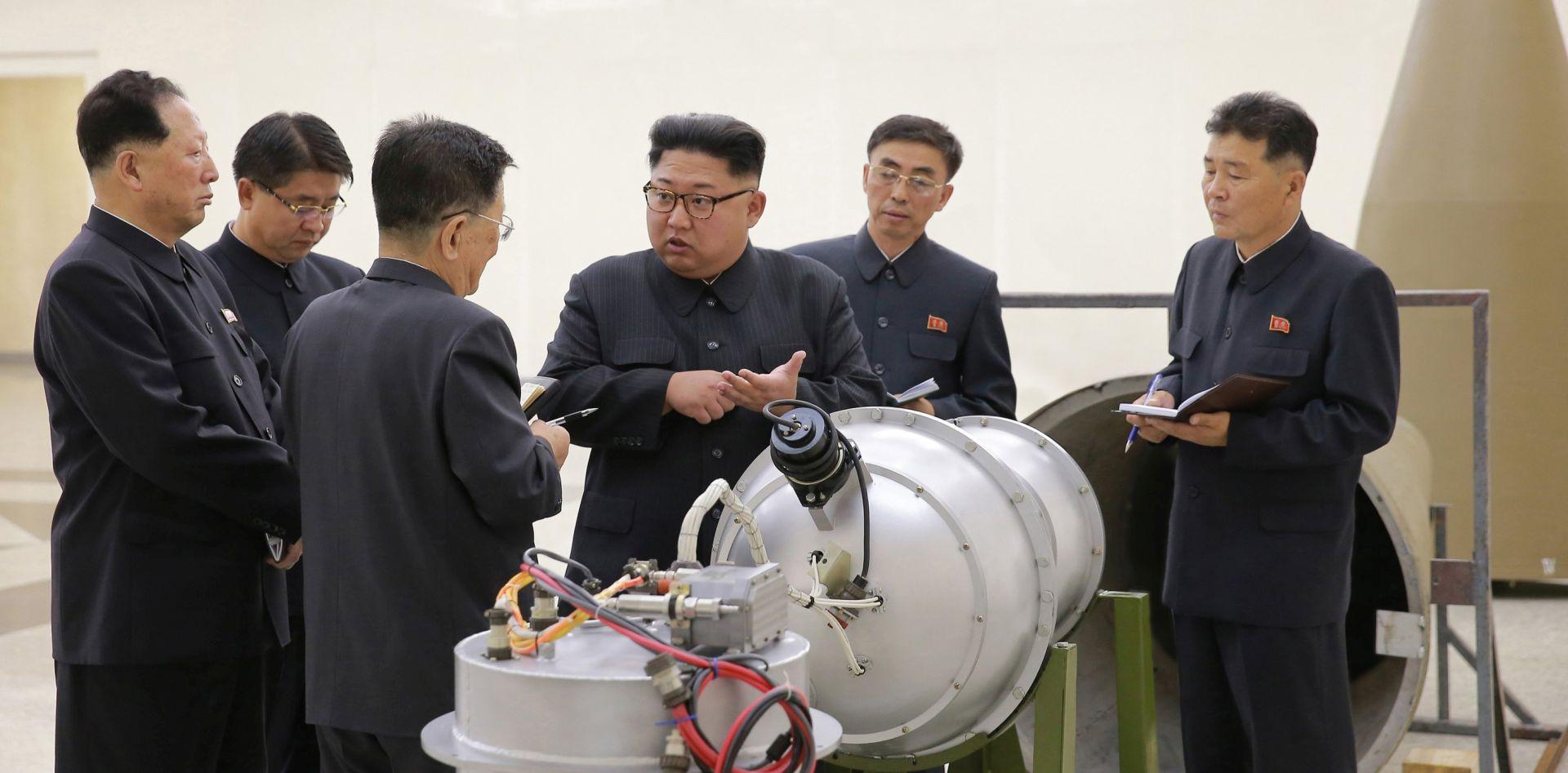 RAZVILI HIDROGENSKU BOMBU Sjeverna Koreja uspješno provela i šesti nukleani pokus