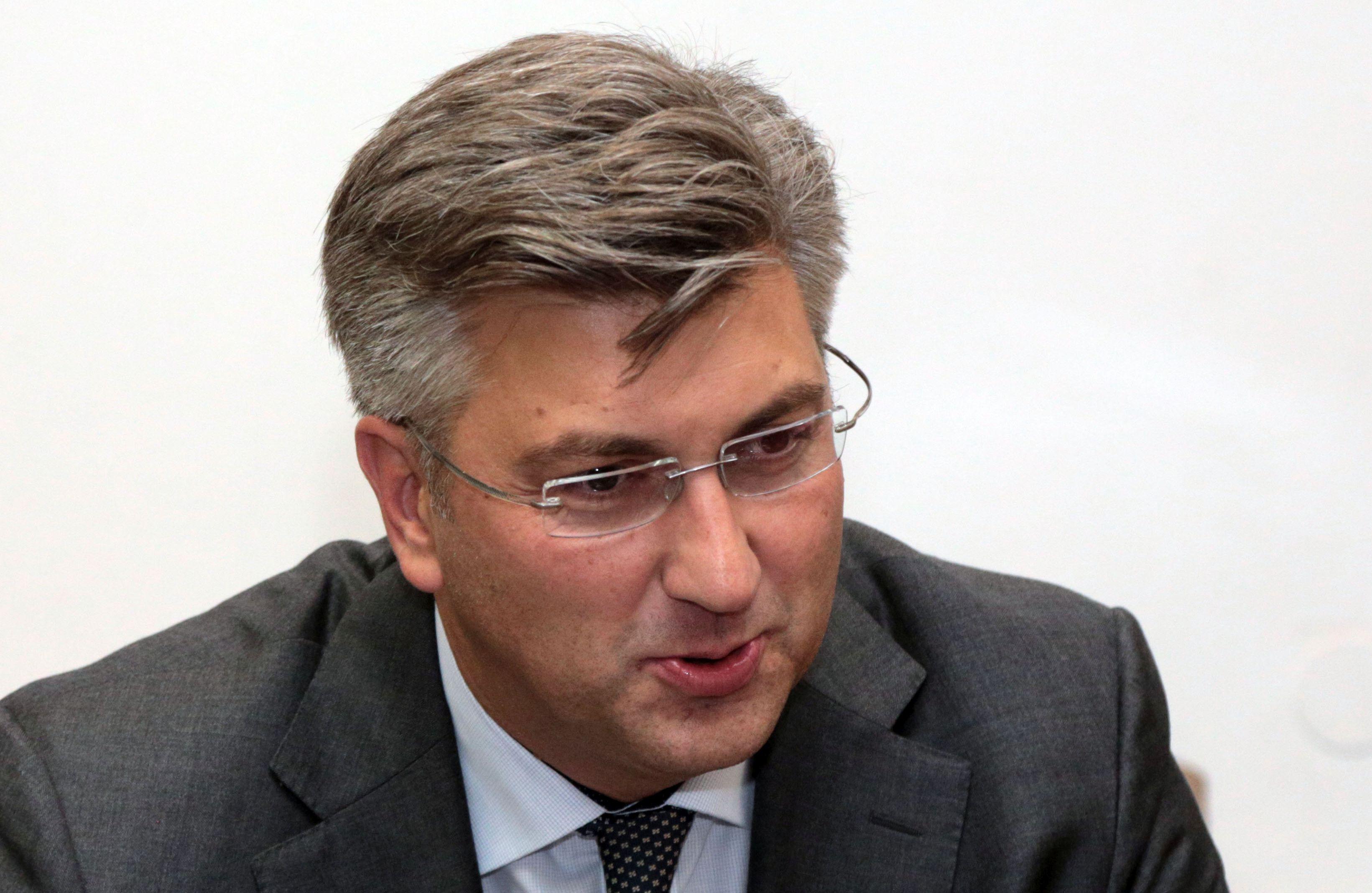 PLENKOVIĆ 'Predsjedništvo i Nacionalno vijeće podržalo rad Vlade oko HOS-ove ploče'