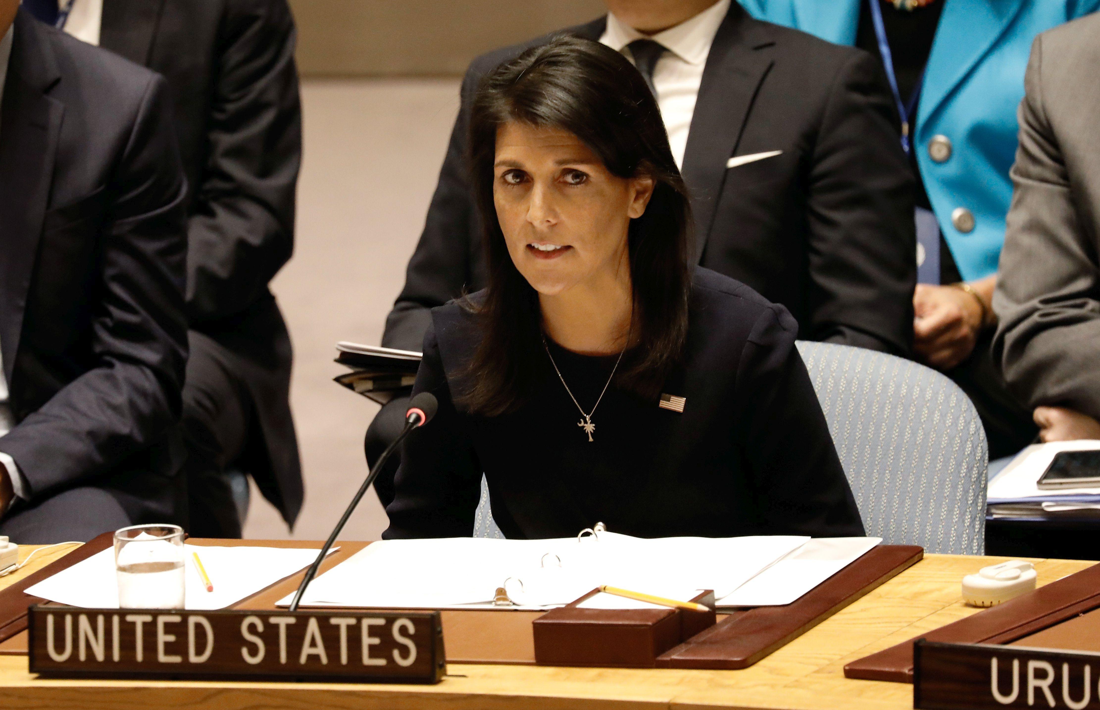 Američka veleposlanica u UN-u Nikky Haley dala ostavku