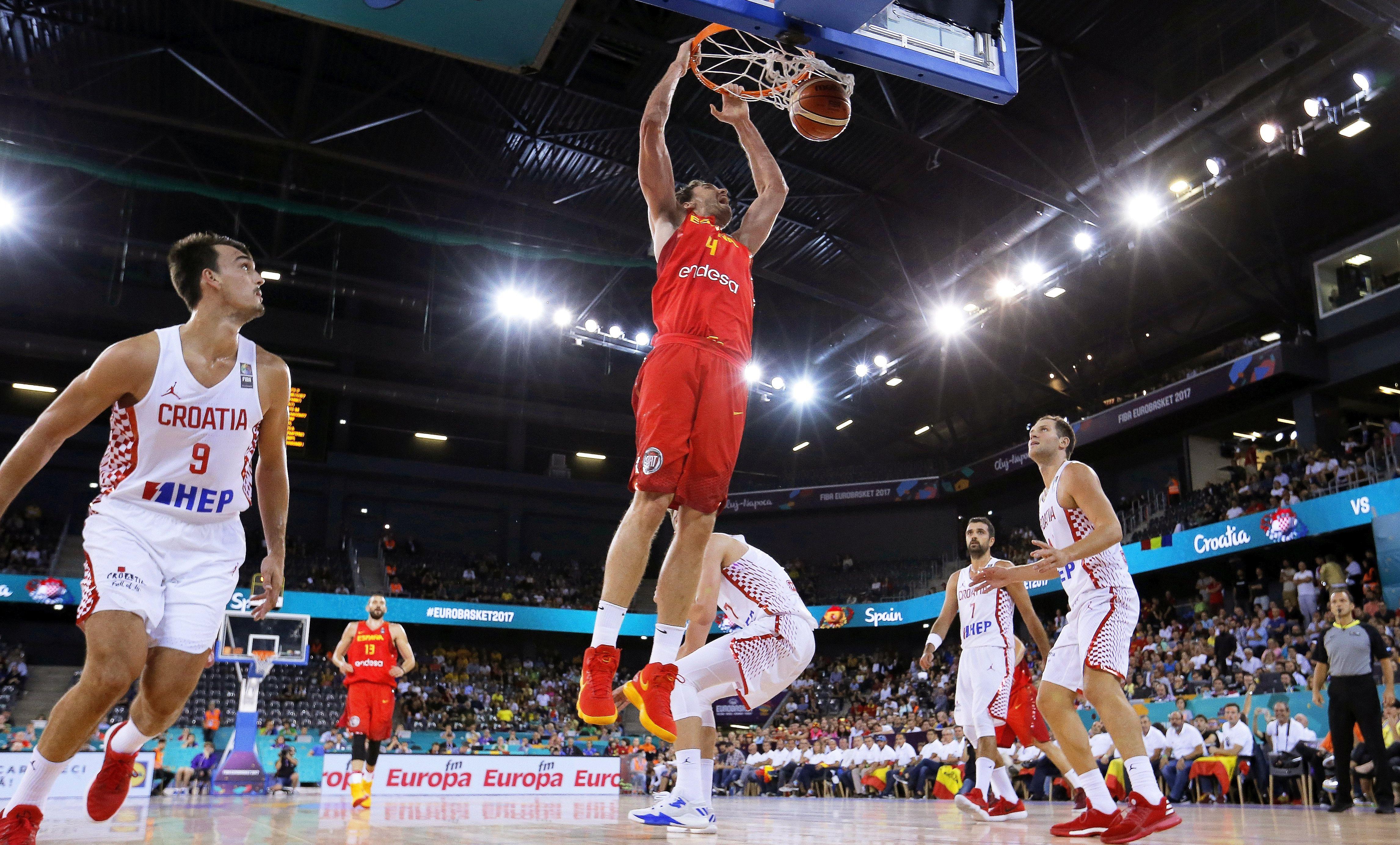 EUROBASKET Prvi poraz Hrvatske, španjolski skok i bacanja donijeli prevagu