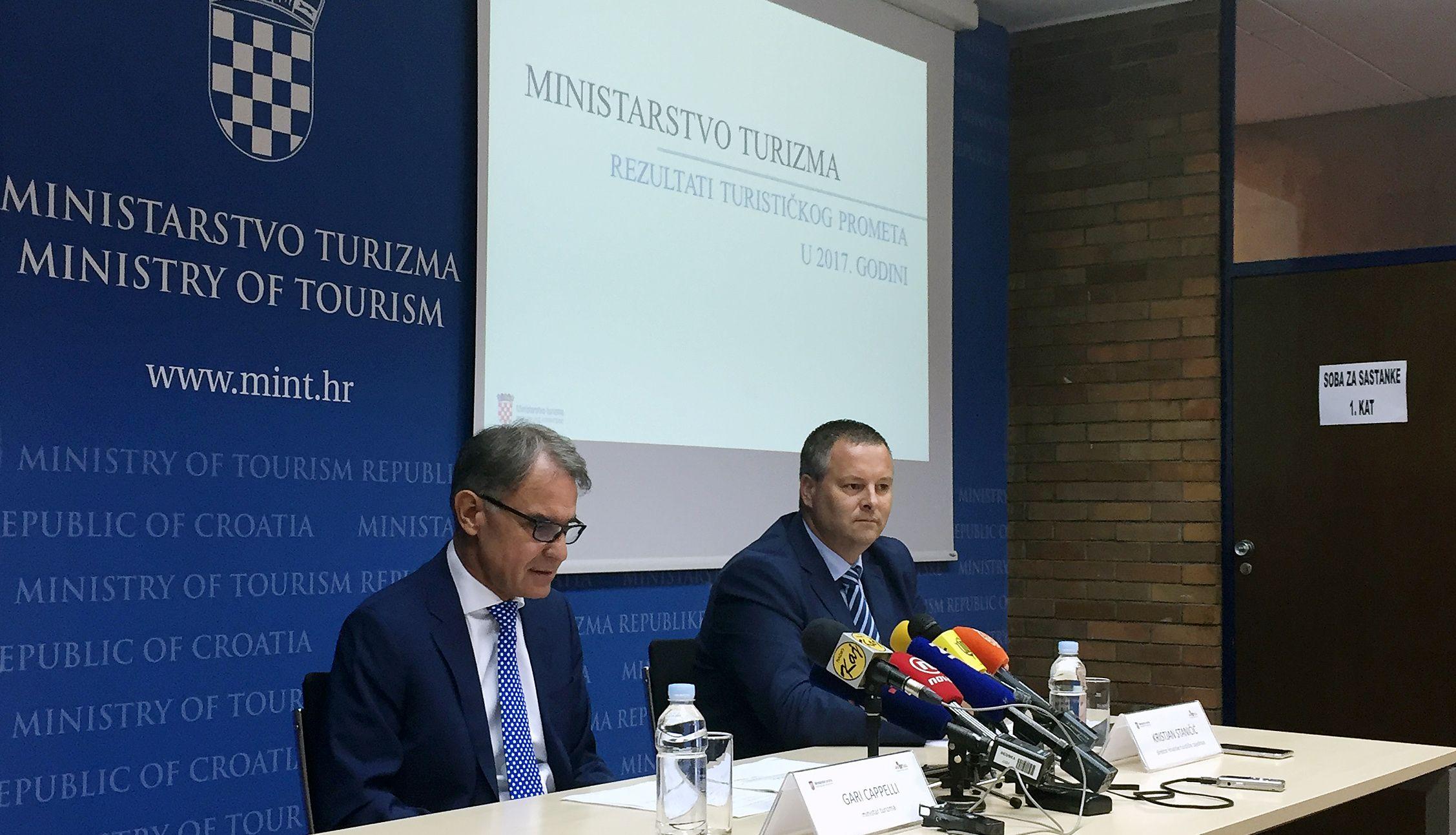 CAPPELLI 'Rekordni turistički rezultati u osam mjeseci; prihod će premašiti lanjskih 10 milijardi eura'