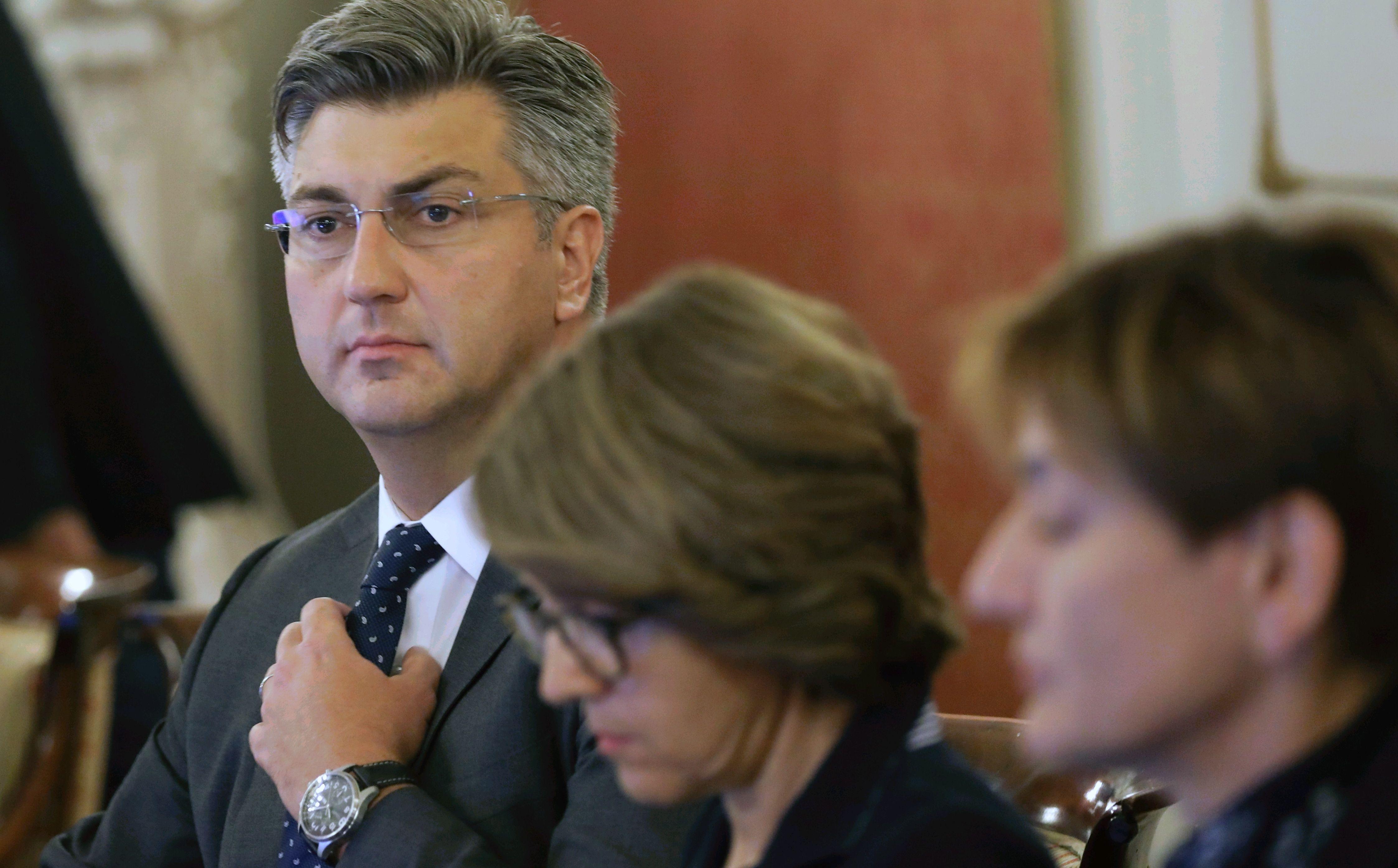 Plenković pozvao Sloveniju da prestane s ucjenama