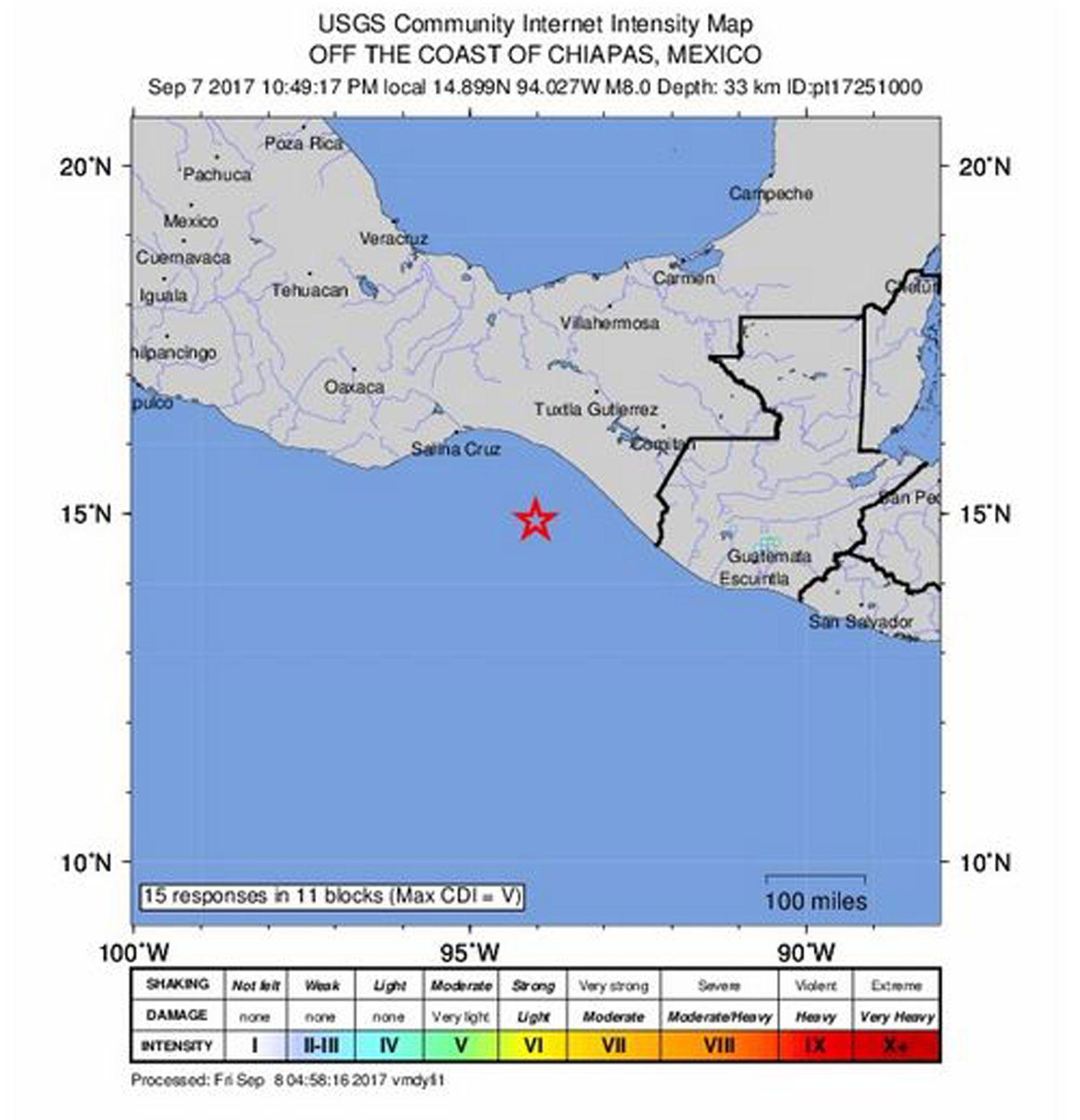 VIDEO: NAJMANJE 47 POGINULIH Jaki potres magnitude 7,4 pogodio južni Meksiko