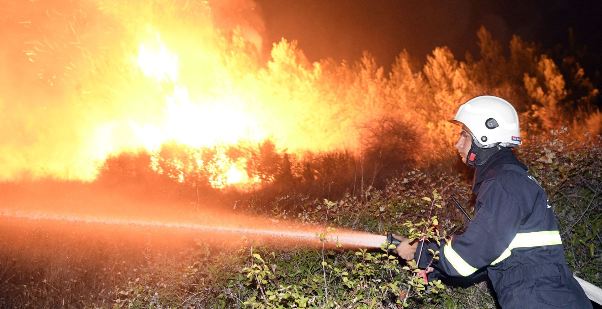 Policija prijavila 29-godišnjaka zbog izazivanja požara kod Omiša