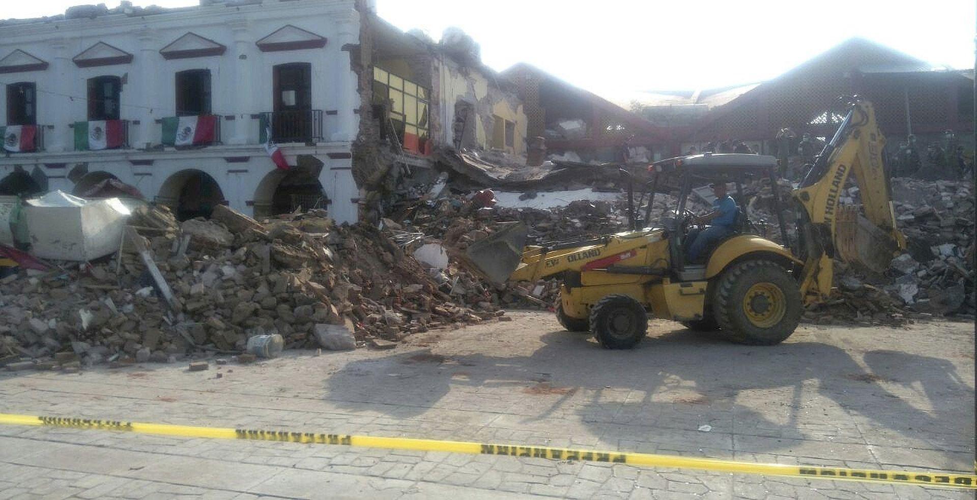 RAZORNI POTRES U MEKSIKU Više od 90 mrtvih, obustavljena potraga