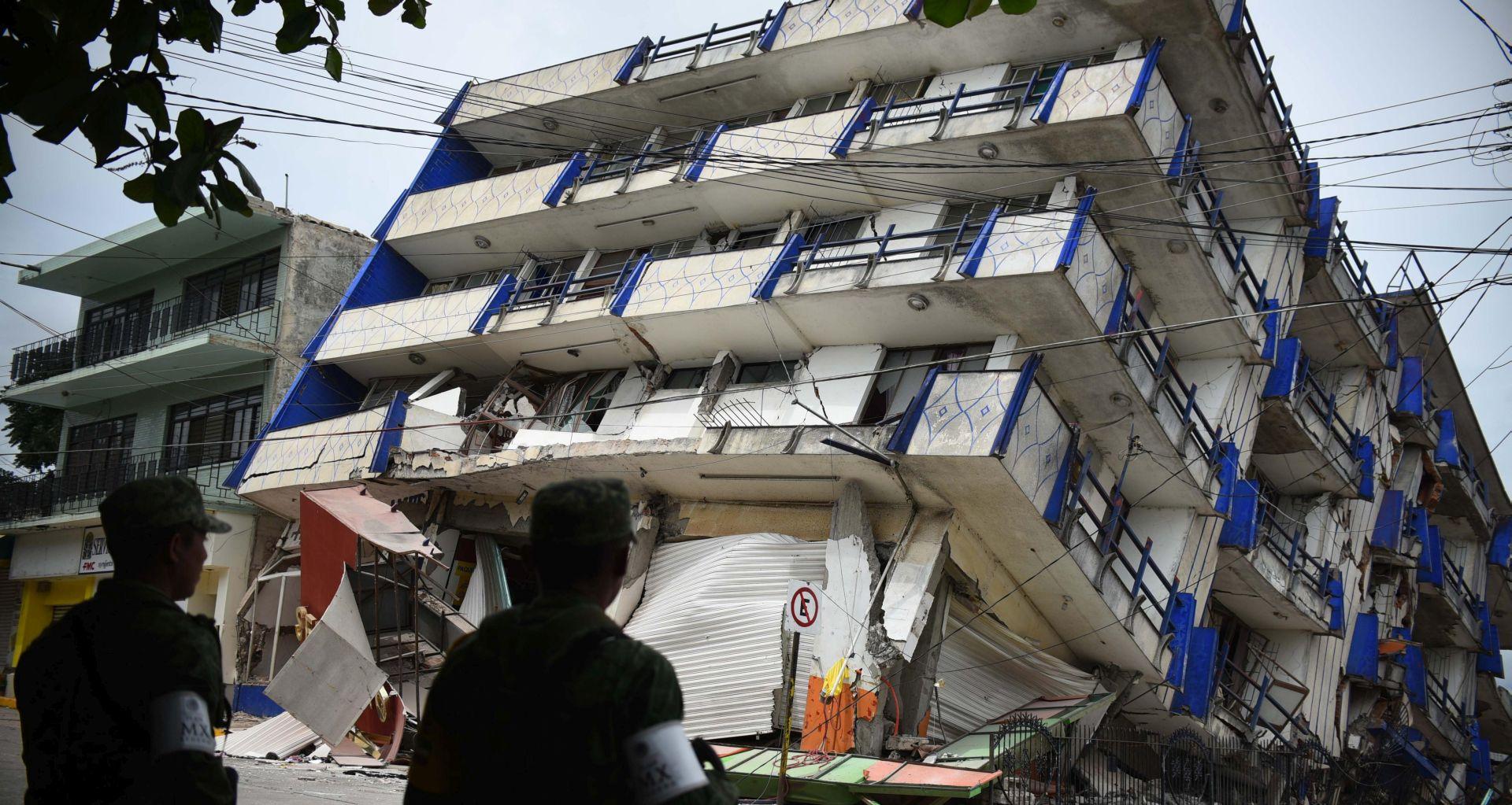 Broj žrtava potresa u Meksiku narastao na 61