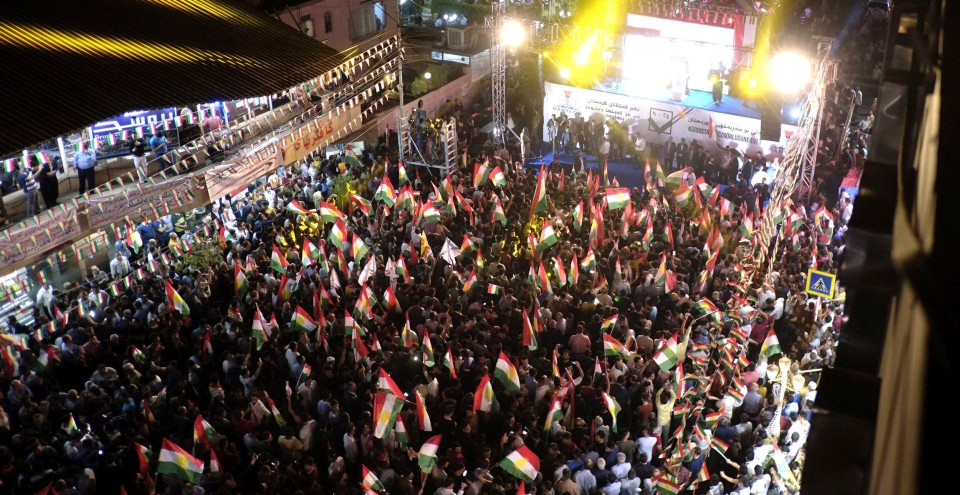 Kurdi ne odustaju od referenduma o neovisnosti
