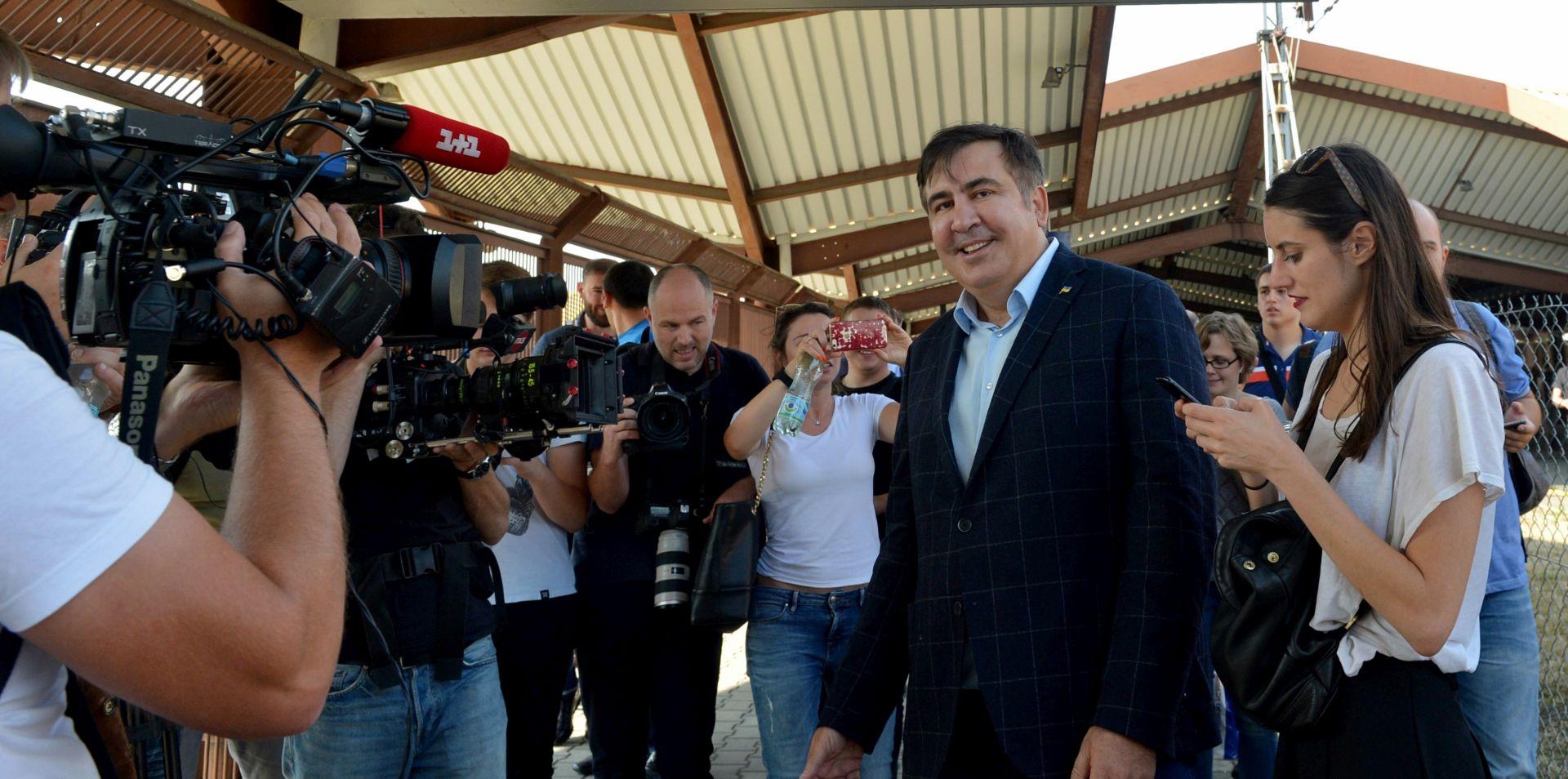 Saakašviliju zabranjen povratak u Ukrajinu