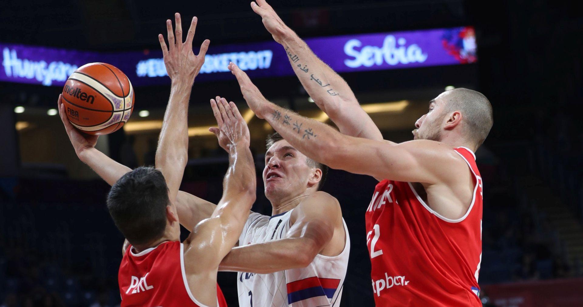 EUROBASKET Srbija očekivano svladala Mađarsku